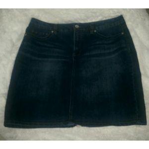 Nine West Jean Skirt